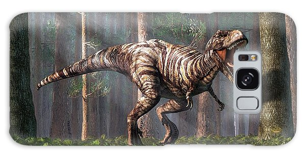 Trex In The Forest Galaxy Case