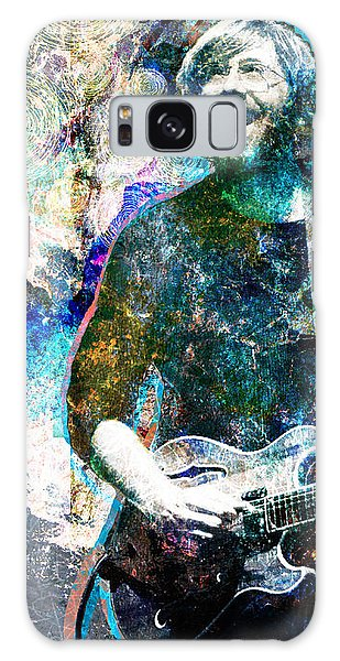 Rock Galaxy Case - Trey Anastasio - Phish Original Painting Print by Ryan Rock Artist