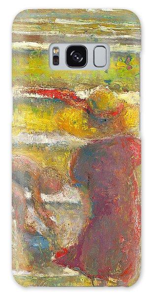 Trhe Yellow Hat Galaxy Case