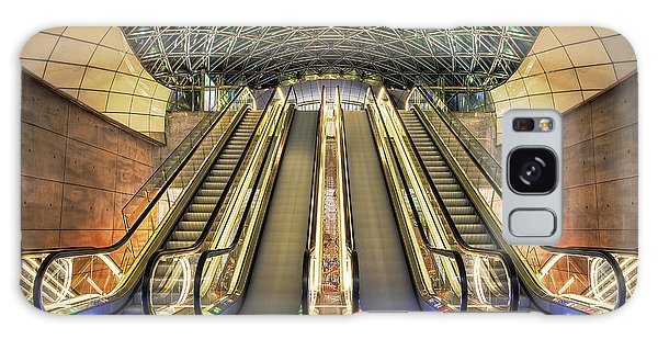 Triangeln Station Escalators Galaxy Case