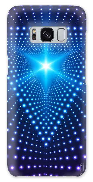 Glow Galaxy Case - Triangle Border With Light Effects by Skillup