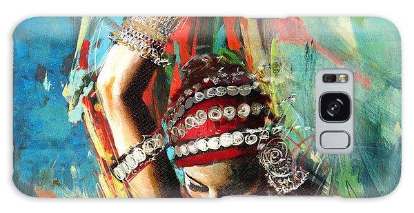 Tribal Dancer 1 Galaxy Case