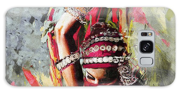 Tribal Dancer 5 Galaxy Case