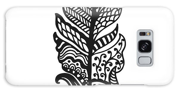 Feathers Galaxy Case - Tribal Vector Feather. Hand Drawn by Qilli