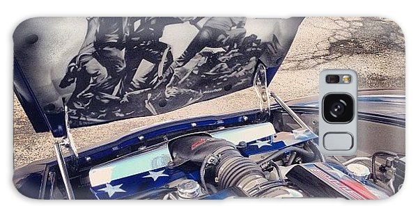 Transportation Galaxy Case - Tribute #corvette To All Veterans #usa by Mike Maher