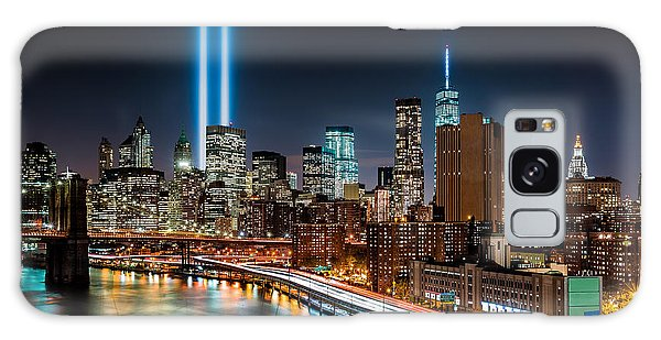 Tribute In Light Memorial Galaxy Case