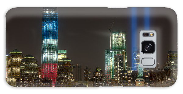 Tribute In Light Xiii Galaxy Case by Clarence Holmes