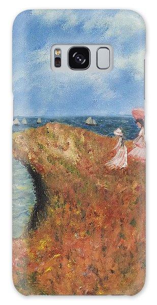 Tribute To Monet Galaxy Case by Kristen R Kennedy