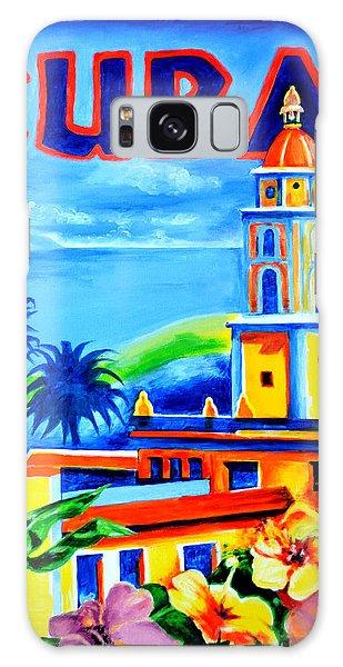 Trinidad Cuba Galaxy Case by Victor Minca