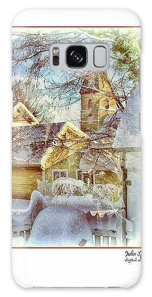 Trinity Episcopal Church In The Snow - Shepherdstown  Galaxy Case