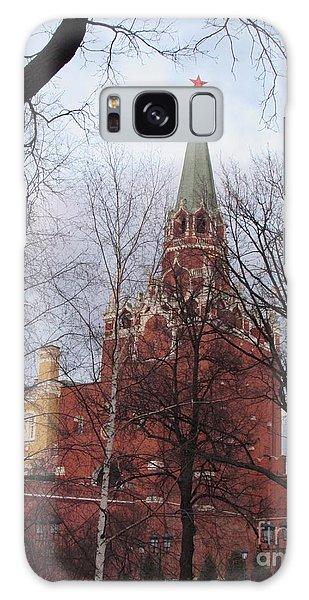 Trinity Tower At Dusk Galaxy Case by Anna Yurasovsky