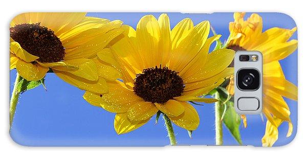 Trio In The Sun - Yellow Daisies By Diana Sainz Galaxy Case