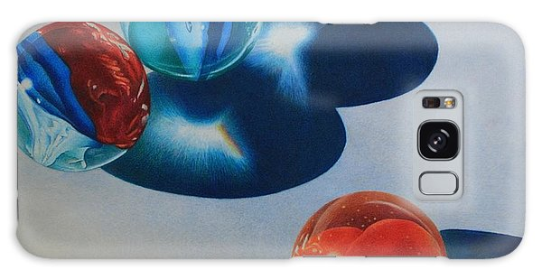 Trio Galaxy Case by Pamela Clements