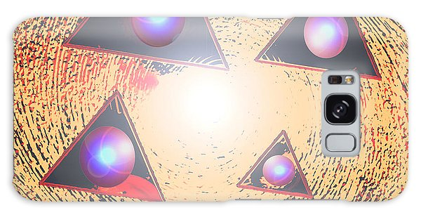 Galaxy Case - Triorbs by Dan Sheldon