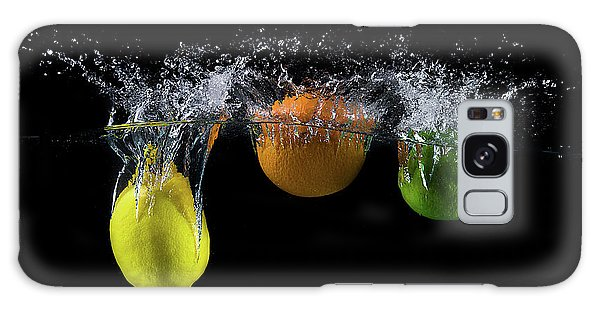 Splash Galaxy Case - Triple Citrus Splash by Mogyorosi Stefan