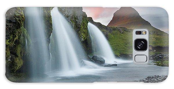 Iceland Galaxy S8 Case - Triple Falls by Karsten Wrobel