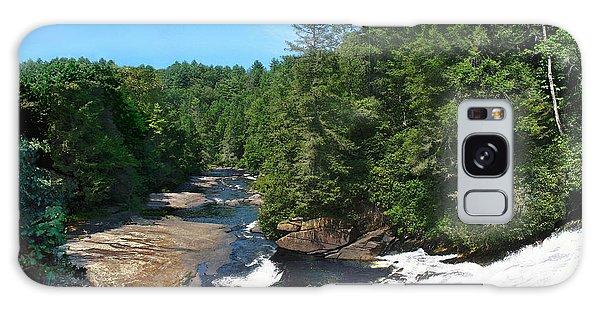 Triple Falls North Carolina Galaxy Case by Steve Karol