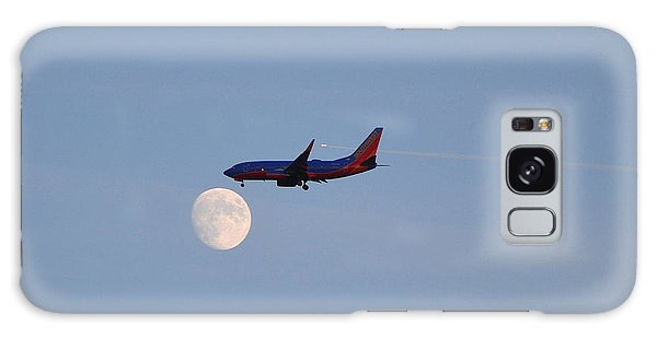 Southwest Airlines Flies To The Moon Galaxy Case by Kelly Reber