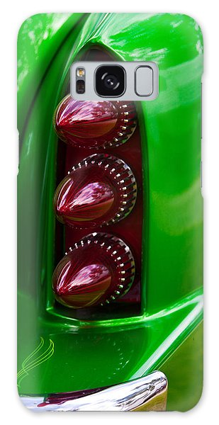 Triple Vertical Tail Lights Galaxy Case by Mick Flynn