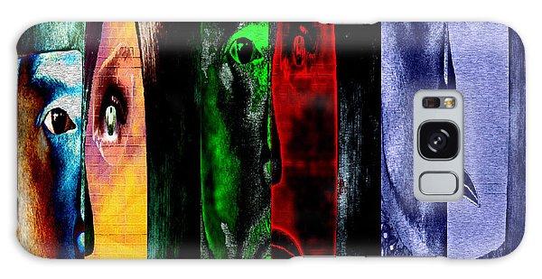 Triptychon Paerchen II - Triptych Couple II Galaxy Case by Mojo Mendiola