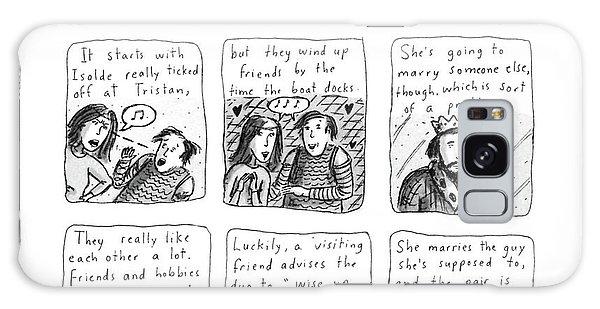 Tristan & Isolde In A Happier Ending Galaxy Case