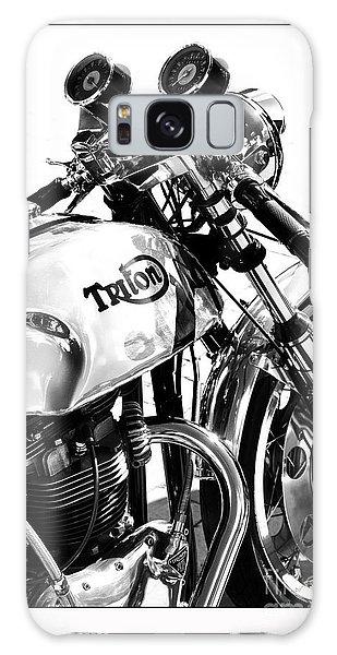 Triton Motorcycle Galaxy Case by Tim Gainey