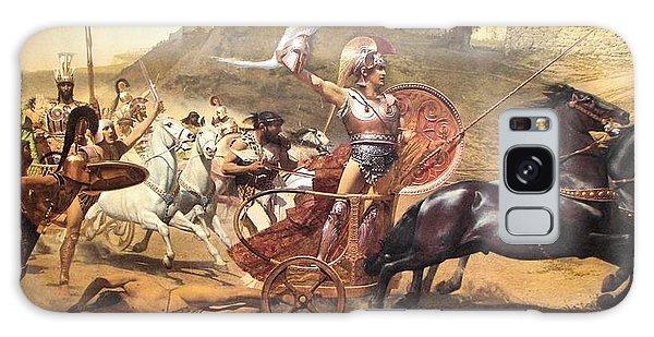 Triumphant Achilles Galaxy Case