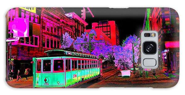 Trolley Night Digital  Galaxy Case