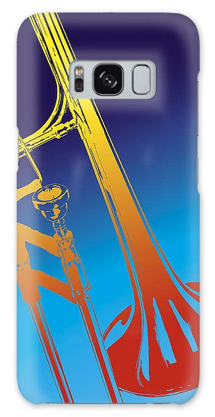 Trombone Galaxy Case - Trombone by Daniel Troy