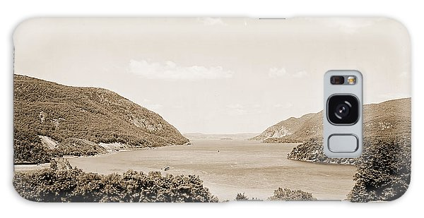 Trophy Point North Fro West Point In Sepia Tone Galaxy Case