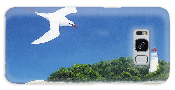 Tropic Bird And Light House Galaxy Case