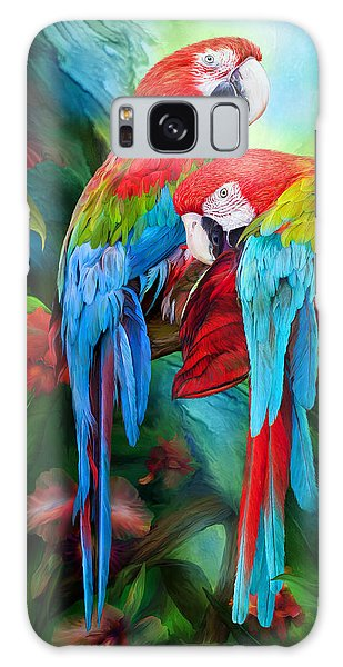 Tropic Spirits - Macaws Galaxy S8 Case