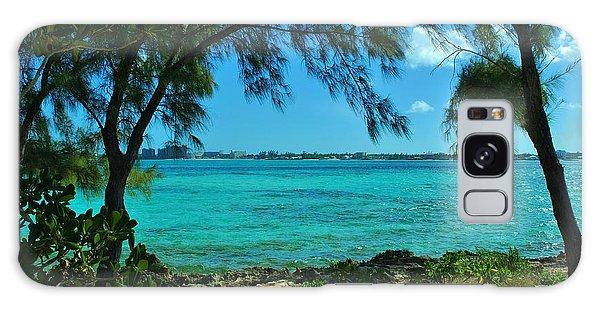 Tropical Aqua Blue Waters  Galaxy Case