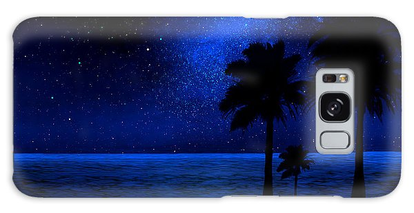 Tropical Beach Wall Mural Galaxy Case