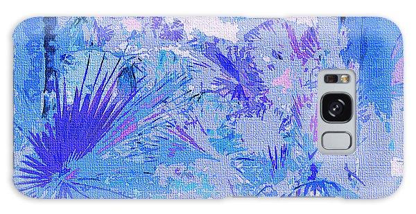 Tropical Blue Galaxy Case