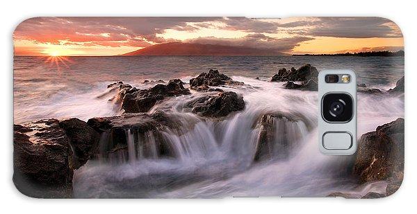 Tides Galaxy Case - Tropical Cauldron by Mike  Dawson