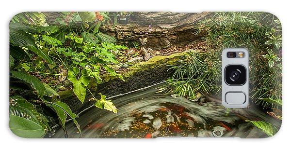 Tropical Koi Pond Swirl Galaxy Case