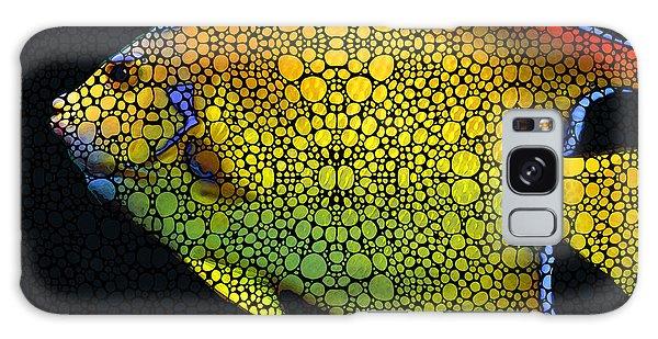 Bradenton Galaxy Case - Tropical Fish 12 - Abstract Art By Sharon Cummings by Sharon Cummings