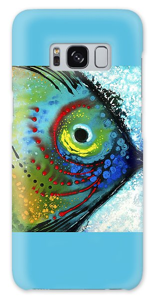 Tropical Fish - Art By Sharon Cummings Galaxy Case