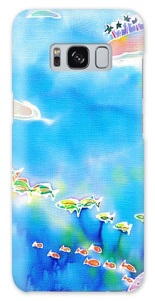 Tropical Fishes Galaxy Case
