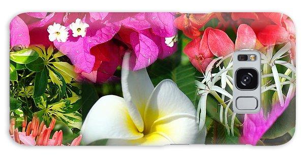 Tropical Flower Power 2 Galaxy Case