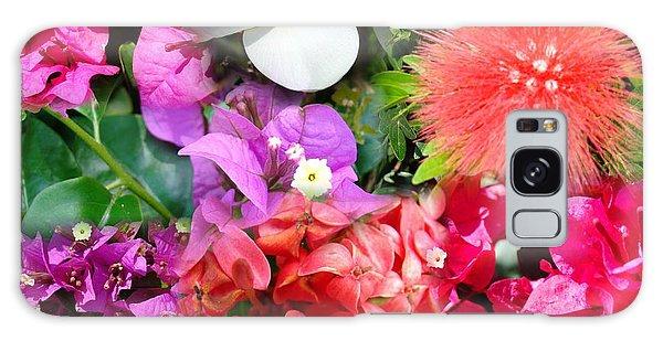 Tropical Flower Power Galaxy Case