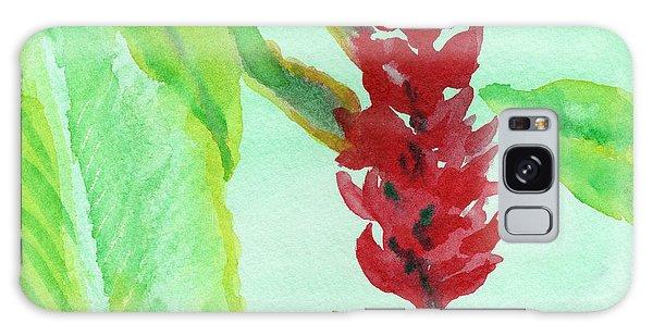 Tropical Flowers 2 Galaxy Case by C Sitton