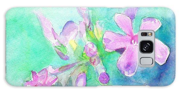Tropical Flowers Galaxy Case by C Sitton