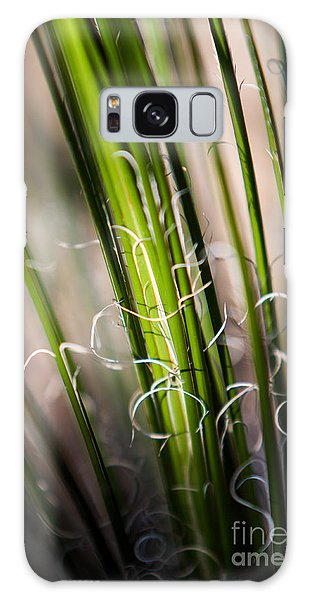 Tropical Grass Galaxy Case