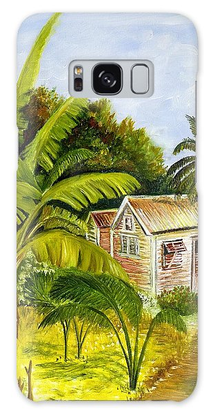 Tropical Haven Galaxy Case