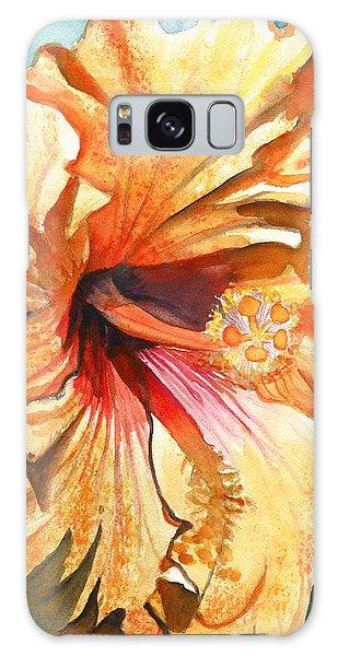 Tropical Hibiscus 3 Galaxy Case