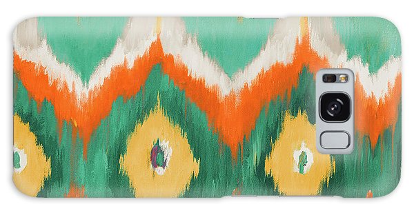 Beach Galaxy S8 Case - Tropical Ikat II by Patricia Pinto