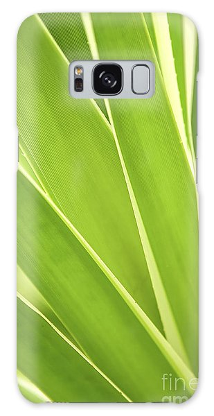 Leaf Galaxy Case - Tropical Leaves by Elena Elisseeva