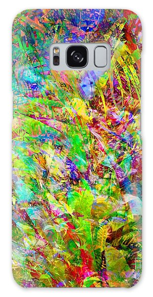 Tropical Mishmash Galaxy Case by Darla Wood